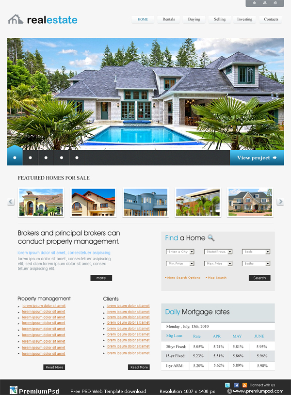 Estate and letting agent website designers and developers in ...